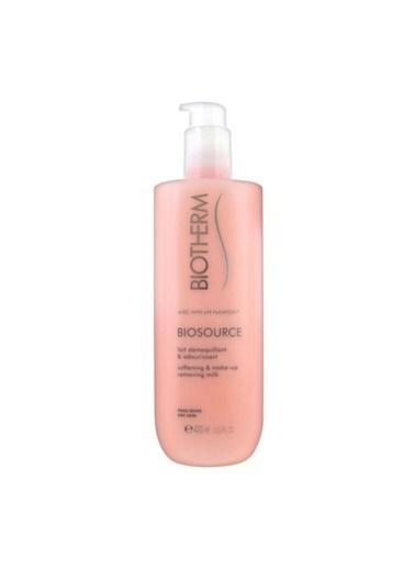 Biotherm Biosource Softening & Make-Up Removing Milk 400 Ml - Kuru Ciltler İçin Makyaj Temizleme Sütü Renksiz
